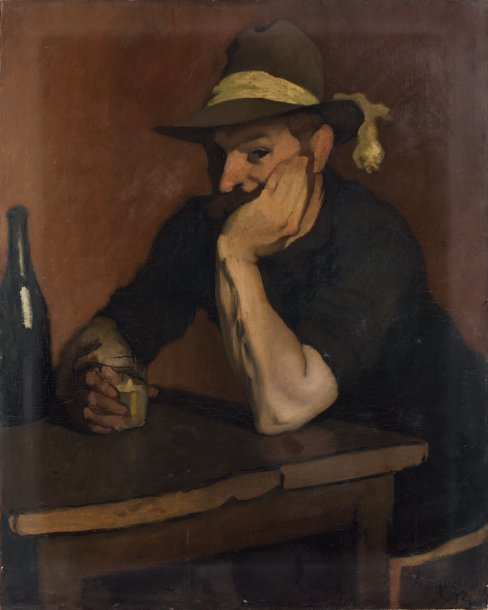 The Drinker. Le Buveur 1892