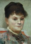 Portrait of La Goulue 1880-1885