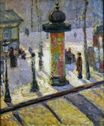 Kiosk on the Boulevard Clichy 1886-1887