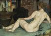 A Nude on Sofa 1892
