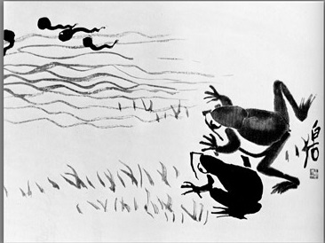 Frogs and tadpoles 1953