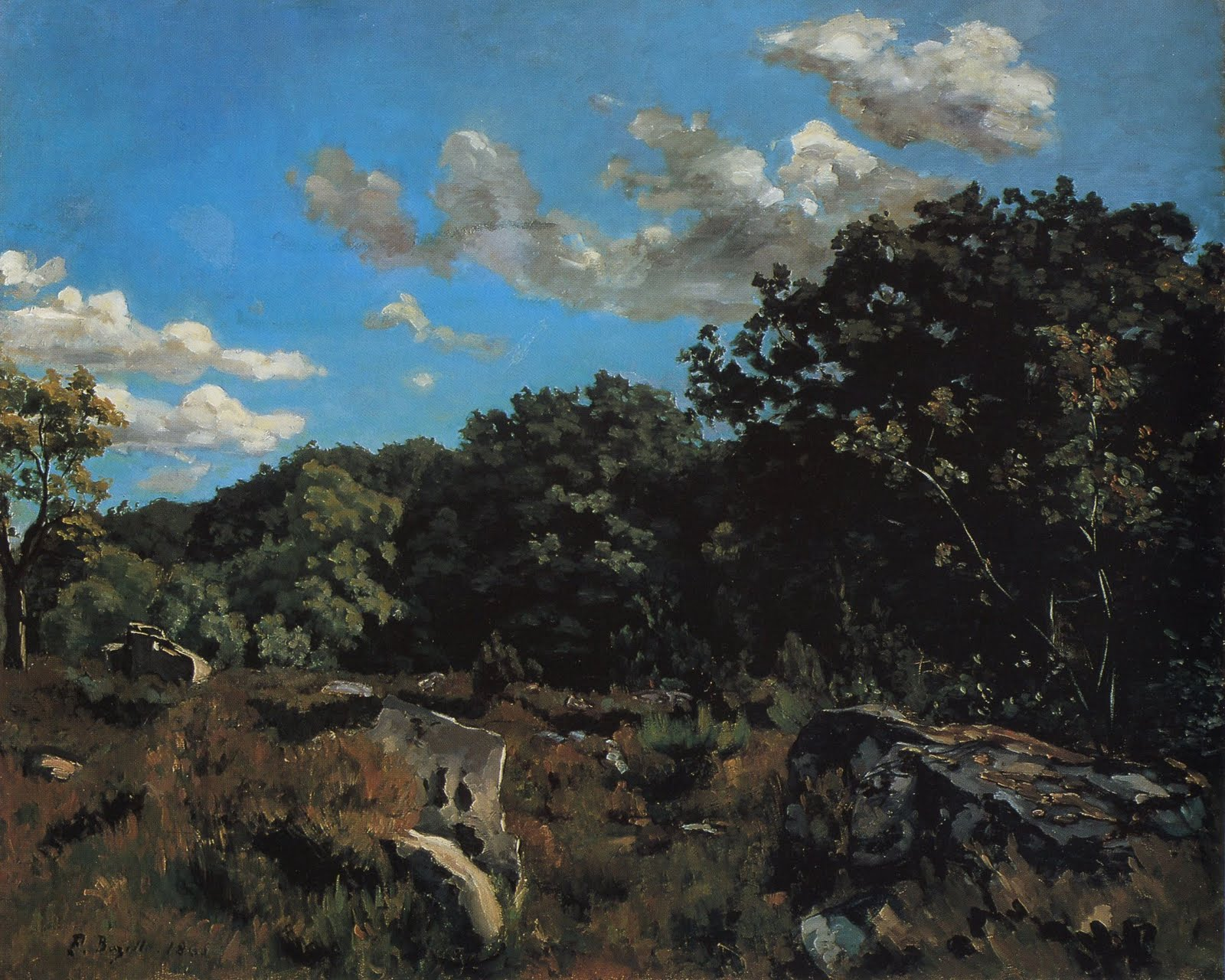 Landscape at Chailly 1865