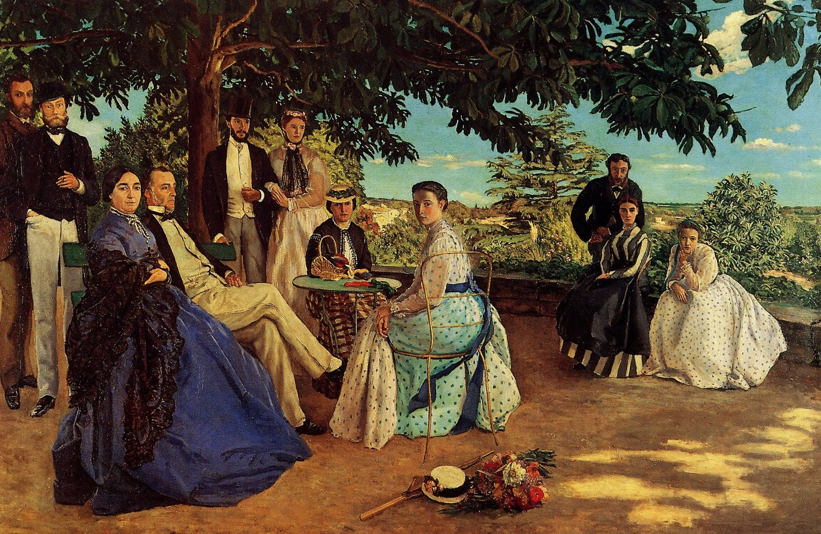 The Family Gathering 1868