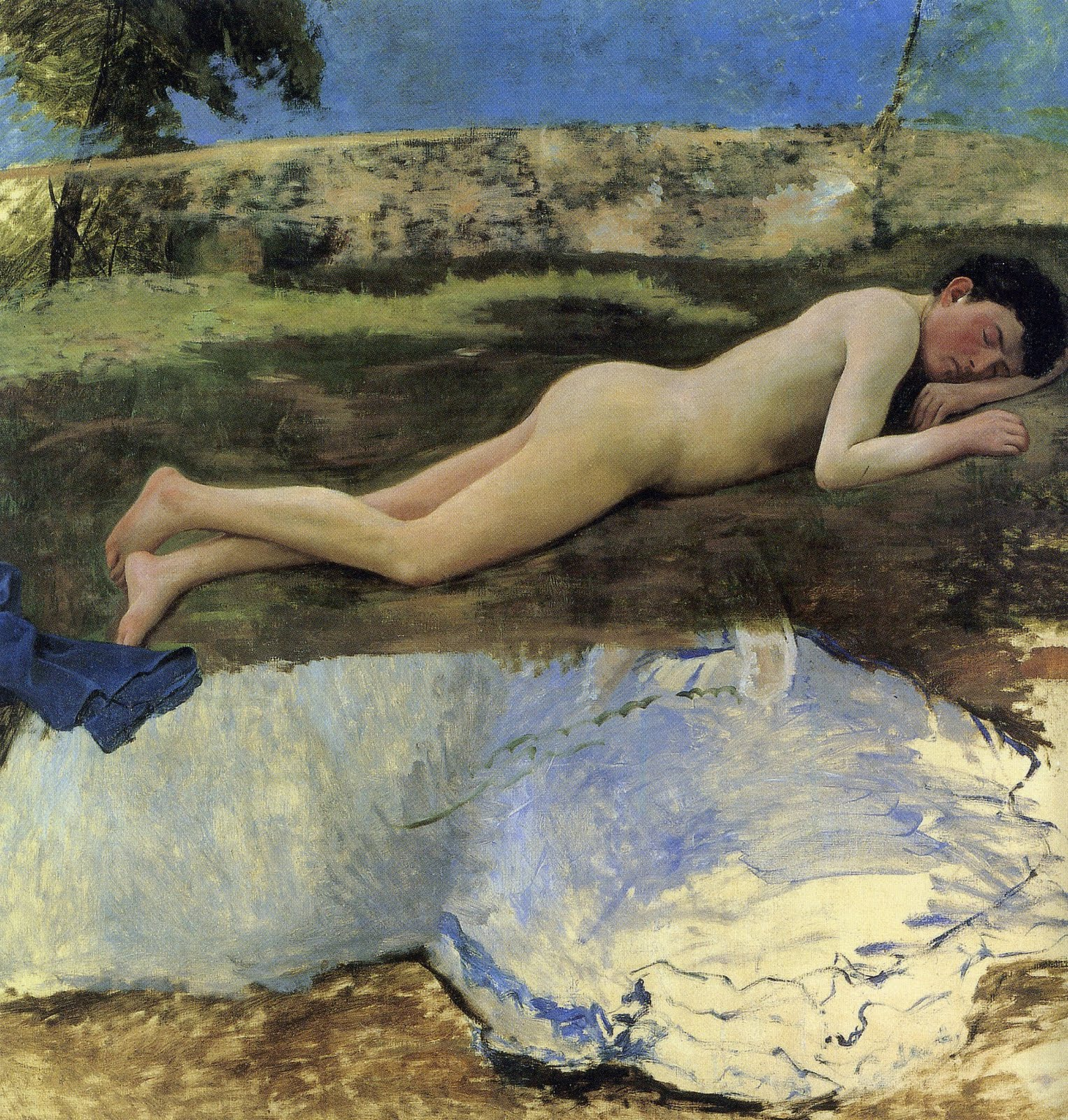 Nude Youth on the Grass 1869