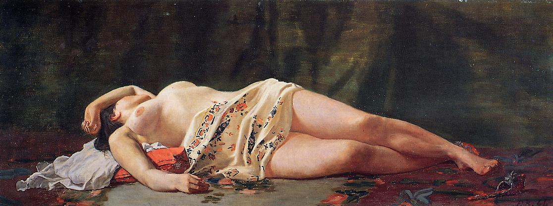 Reclining nude 1864