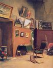 Frederic Bazille most famous paintings. Studio in the rue de Furstenberg 1865