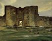 Port of the Queen at Aigues-Mortes 1867