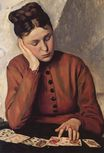 Frederic Bazille most famous paintings. The Fortuneteller 1868