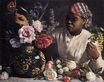 Young Woman with Peonies Woman with Peonies 1870