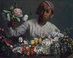 Black Woman with Peonies 1870