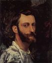 Frederic Bazille en chemise 1870