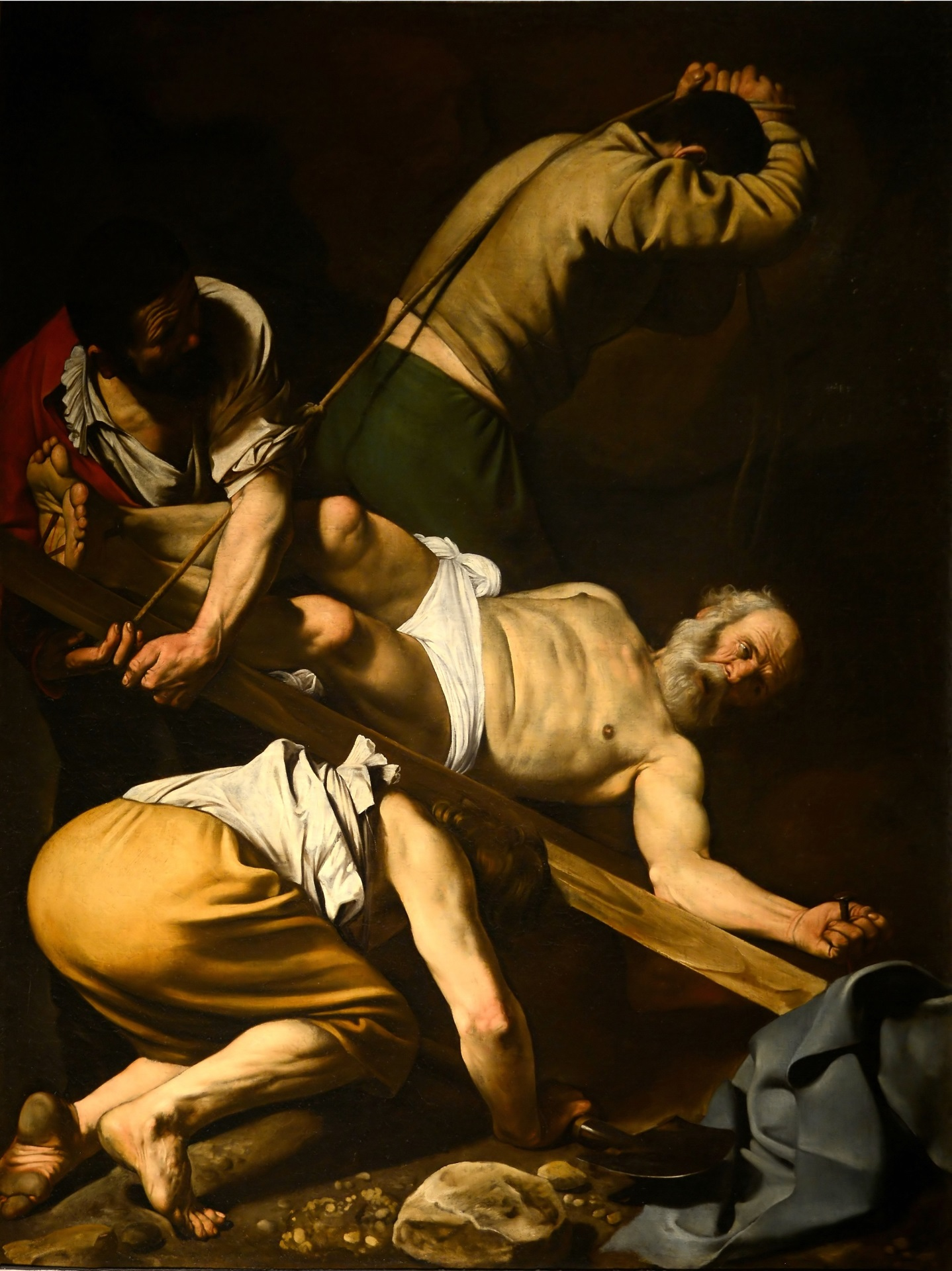Caravaggio - Crucifixion of Saint Peter 1601