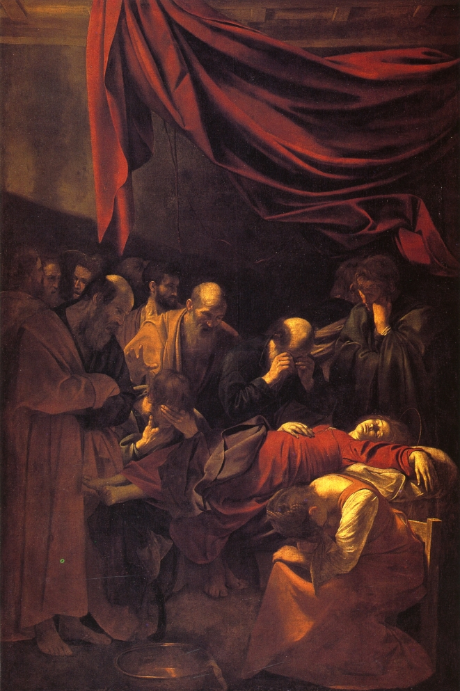 Caravaggio - The Death of the Virgin 1601-1605