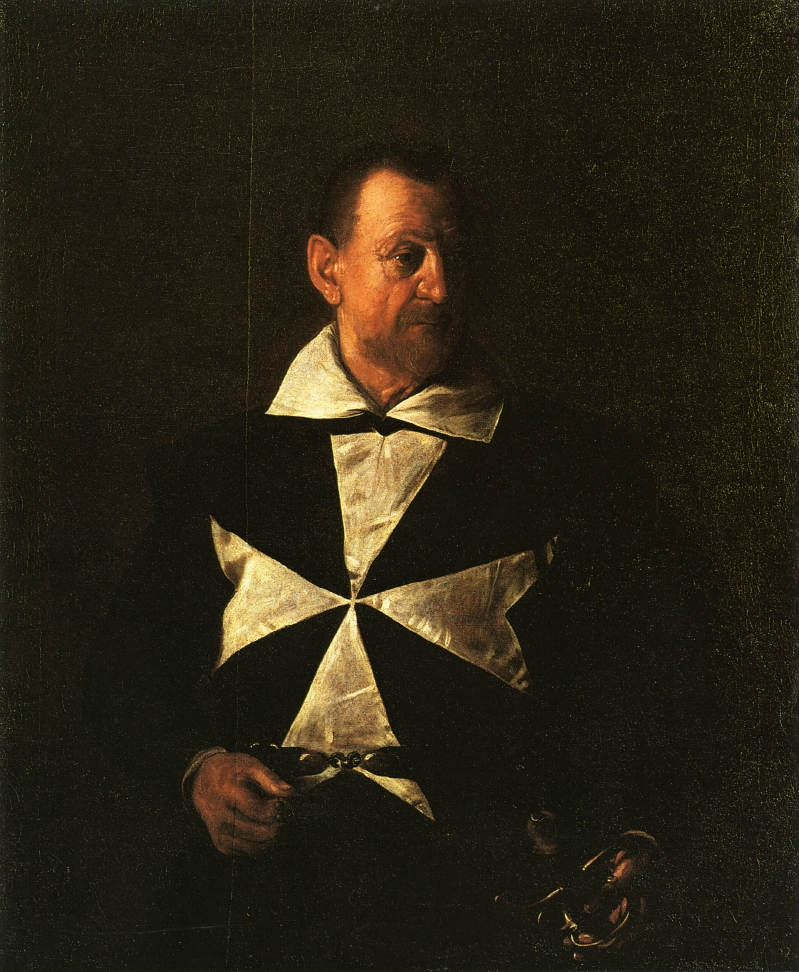 Caravaggio - Portrait of Fra Antionio Martelli 1608