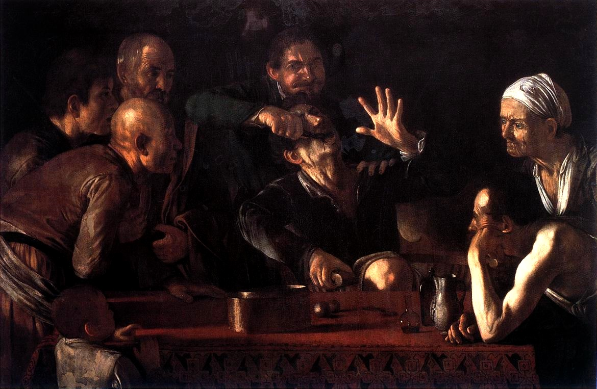 Caravaggio - Tooth Puller 1609