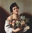 Caravaggio - Boy with a Basket of Fruit 1593