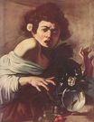 Caravaggio - Boy Bitten by a Lizard 1596