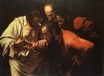 Caravaggio - Incredulity of Saint Thomas 1602