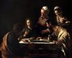 Caravaggio - Supper at Emmaus 1606