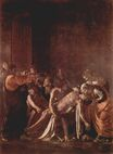 Caravaggio - Resurrection of Lazarus 1608-1609