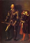 Caravaggio - Portrait of Alof de Wignacourt and his Page 1608