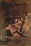 Caravaggio - Adoration of the Shepherds 1609