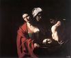 Caravaggio - Salome with the Head of John the Baptist 1609