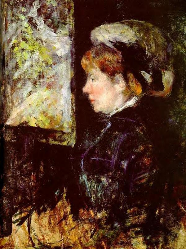 Mary Cassatt - The Visitor 1880