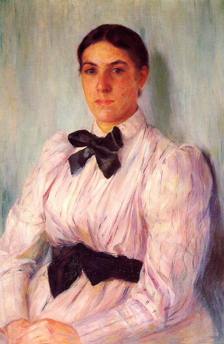 Mary Cassatt - Portrait of Mrs William Harrison 1890