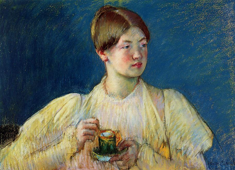 Mary Cassatt - The Cup of Tea 1897