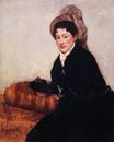 Mary Cassatt - Portrait of Madame X Dressed for the Matinee 1878