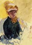 Mary Cassatt - Self Portrait 1880
