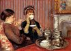 Mary Cassatt - The Tea 1880