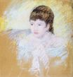 Mary Cassatt - Young Girl with Brown Hair 1880-1886