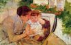 Mary Cassatt - Susan Comforting the Baby (no.2) 1881