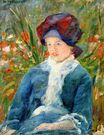 Mary Cassatt - Susan seated in Garden 1882-1883