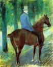 Mary Cassatt - Mr. Robert S. Cassatt on Horseback 1885