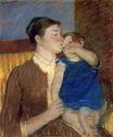 Mary Cassatt - Mother s Goodnight Kiss. Young Mother 1888