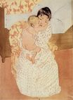 Mary Cassatt - Nude Child 1890-1891