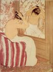 Mary Cassatt - The Coiffure 1890-1891