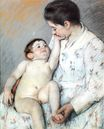 Mary Cassatt - Baby`s First Cess 1891