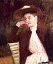Mary Cassatt - Celeste in a Brown Hat 1891