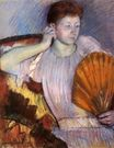 Mary Cassatt - Contemplation 1891