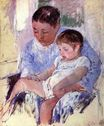Mary Cassatt - Jenny and Her Sleepy Child 1891