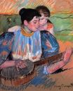 Mary Cassatt - The Banjo Lesson 1893-1894