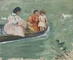 Mary Cassatt - On the Water 1895