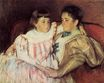 Mary Cassatt - Portrait of Mrs Havemeyer and Her Daughter Electra 1895