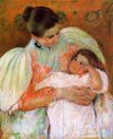 Mary Cassatt - Nurse and Child 1896-1897