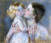 Mary Cassatt - A Kiss for Baby Anne (no. 3) 1897