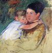 Mary Cassatt - Sketch of Anne and Her Nurse 1897